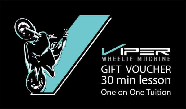 Motorcycle Wheelie Gift Voucher