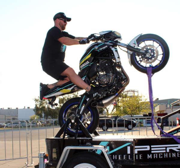 Viper Wheelie Machine Perth