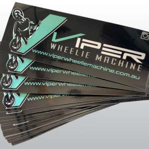Viper Wheelie Perth Stickers