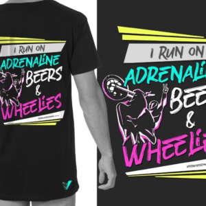 Viper Wheelie T-Shirt